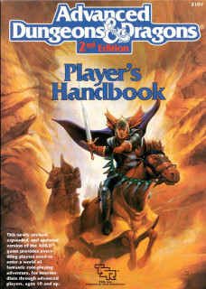 Advanced Dungeons & Dragons (2nd ed) - Player's Handbook